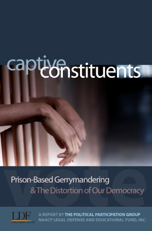 cover of NAACP LDF report, 'Captive Constituents'