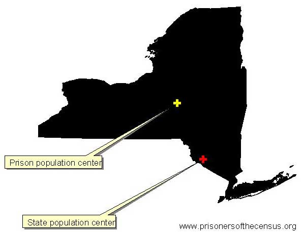 New York population centers
