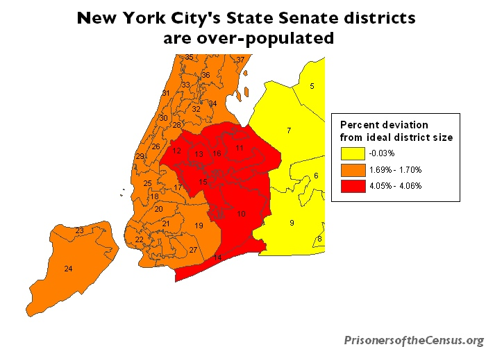 Gerrymandering in New York State | Prison Gerrymandering Project